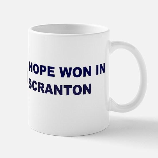 Hope Won in SCRANTON Mug