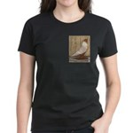 WOE Peach Laced Women's Dark T-Shirt