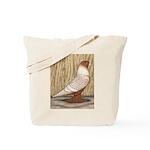 WOE Peach Laced Tote Bag