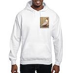 WOE Peach Laced Hooded Sweatshirt
