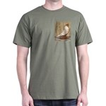 WOE Peach Laced Dark T-Shirt