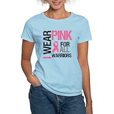 I Wear Pink Warriors T-Shirt
