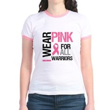 I Wear Pink Warriors T