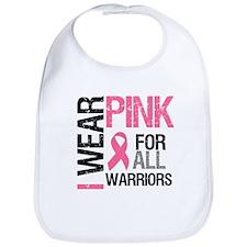 I Wear Pink Warriors Bib
