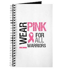 I Wear Pink Warriors Journal