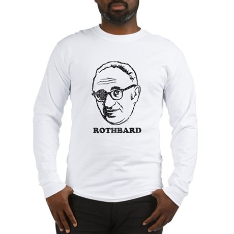 Murray Rothbard Long Sleeve T-Shirt