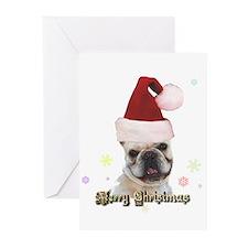 Christmas French Bulldog Greeting Cards (Pk of 20)