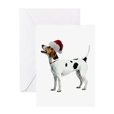 English Foxhound Christmas Greeting Card