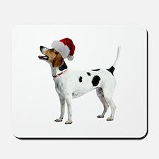 English Foxhound Christmas Mousepad