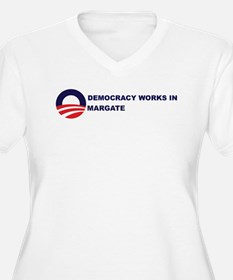 Democracy Works in MARGATE T-Shirt