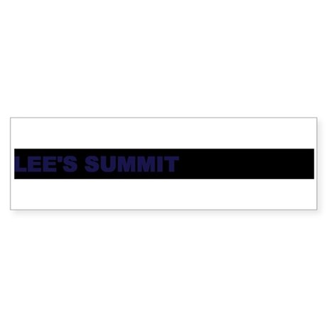 Democracy Works in LEE`S SUMM Bumper Sticker