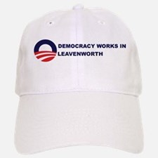 Democracy Works in LEAVENWORT Baseball Baseball Cap