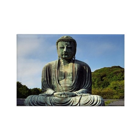 Great Buddha Rectangle Magnet