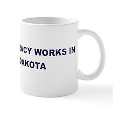 Democracy Works in NORTH DAKO Mug