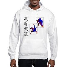 Budo Judo on White Hoodie