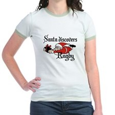 Santa Rugby Christmas T