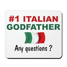#1 Italian Godfather Mousepad