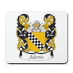 Adorno Family Crest Mousepad