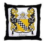 Adorno Family Crest Throw Pillow