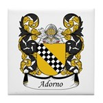 Adorno Family Crest Tile Coaster