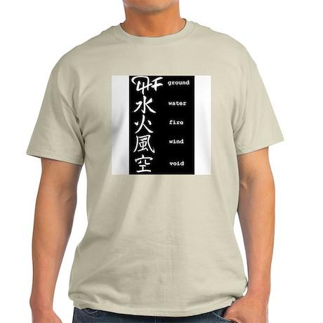 Book of 5 Rings Ash Grey T-Shirt
