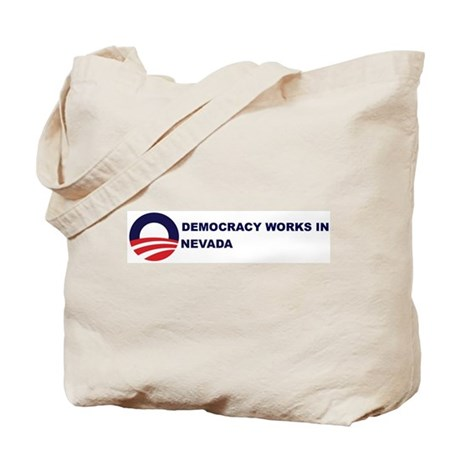 Democracy Works in NEVADA Tote Bag