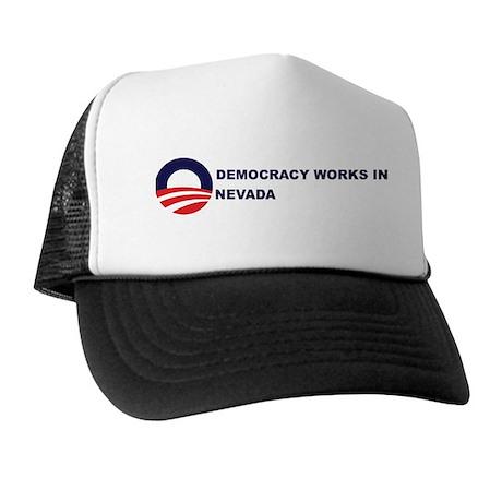 Democracy Works in NEVADA Trucker Hat