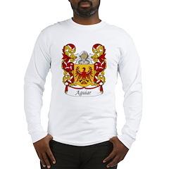 Aguiar Family Crest Long Sleeve T-Shirt