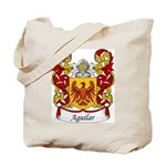 Aguilar Family Crest Tote Bag