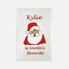 Kylie Christmas Rectangle Magnet