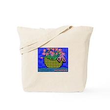 Cute Basket weave Tote Bag