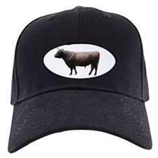 Milking Devon Bull Baseball Hat