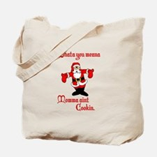 Funny Italian Santa Tote Bag