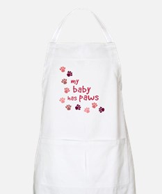 My Baby has Paws BBQ Apron