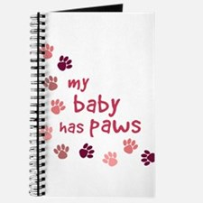 My Baby has Paws Journal