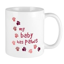 My Baby has Paws Mug