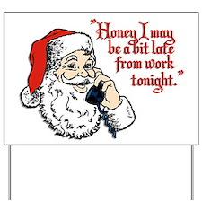 Santa and Mrs Claus Yard Sign