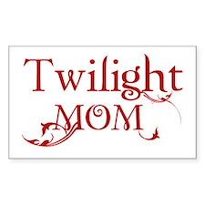 Twilight Mom Rectangle Decal