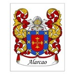 Alarco Family Crest Small Poster
