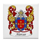 Alarco Family Crest Tile Coaster