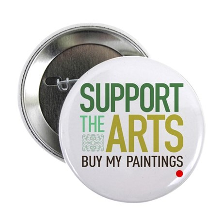 "Support the Arts Artist's 2.25"" Button"