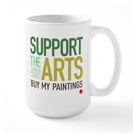 Support the Arts Artist's Large Mug