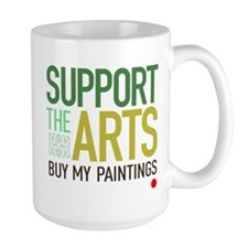 Support the Arts Artist's Mug