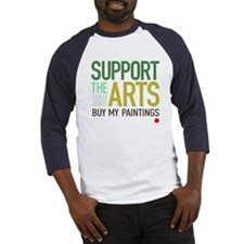 Support the Arts Artist's Baseball Jersey