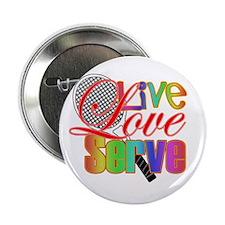 "Live, Love, Serve 2.25"" Button"