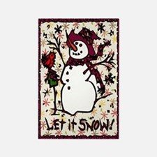 Winter Delights Rectangle Magnet