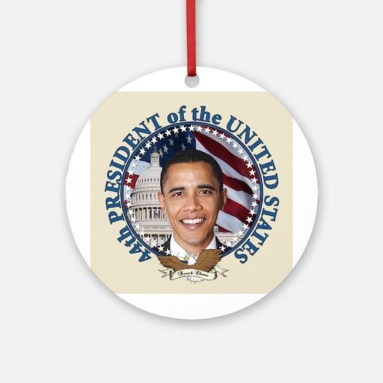 President Obama inauguration Ornament (Round)