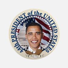 "President Obama inauguration 3.5"" Button (100"