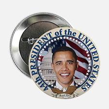 "President Obama inauguration 2.25"" Button (10"