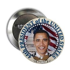 "President Obama inauguration 2.25"" Button"